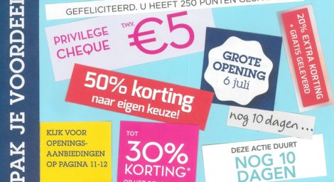 Beginnen met direct mail